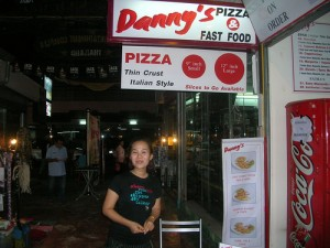 Pizza in Chiang Mai