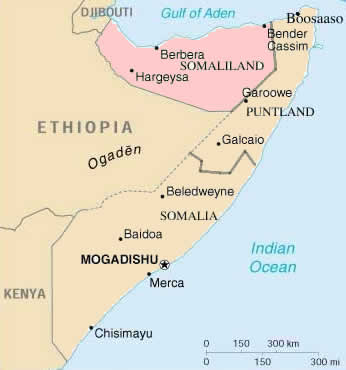 map of somalia in africa. map of Somalia