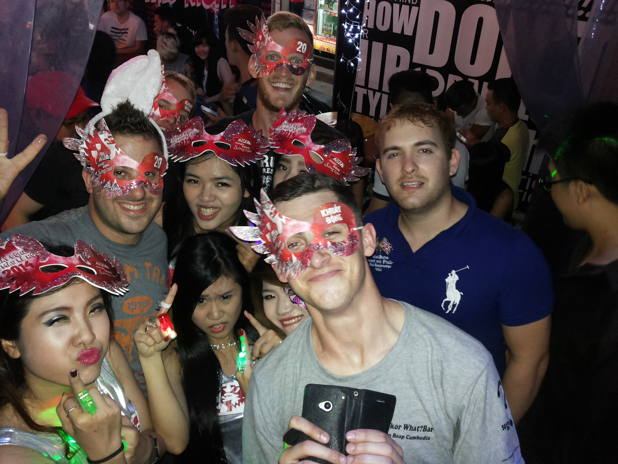 New Year 2014 in Saigon