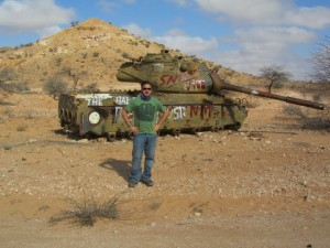 Somali Civil War Tank